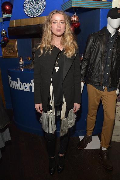 Amber Heard「Timberland Celebrates Winter On the Modern Trail With Stylist Samantha McMillen」:写真・画像(13)[壁紙.com]