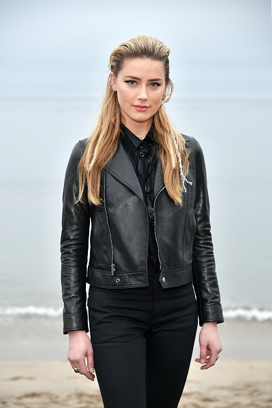 Amber Heard「Saint Laurent Mens Spring Summer 20 Show - Photo Call」:写真・画像(11)[壁紙.com]