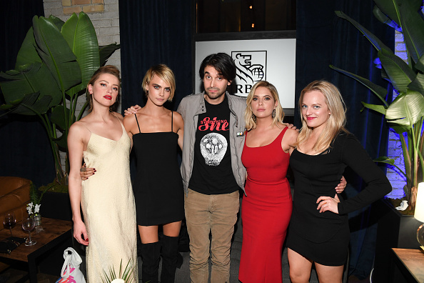 アシュリー ベンソン「RBC Hosted 'Her Smell' Cocktail Party At RBC House Toronto Film Festival 2018」:写真・画像(19)[壁紙.com]