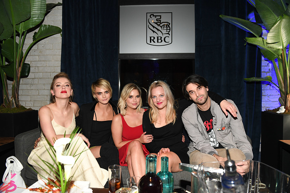 "Cara Delevingne「RBC Hosted ""Her Smell"" Cocktail Party At RBC House Toronto Film Festival 2018」:写真・画像(8)[壁紙.com]"