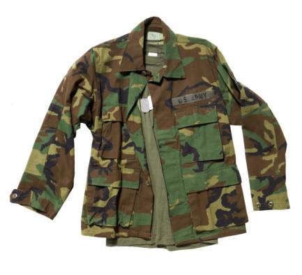 迷彩柄「Military uniform jacket」:スマホ壁紙(4)
