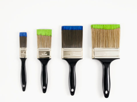 Four Objects「Paint brushes」:スマホ壁紙(17)