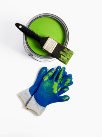 Protective Glove「Paint brush and gloves」:スマホ壁紙(16)