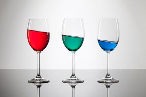 Digital Composite「RGB abnormality. Wine Glass Drink Diagonal Water Art Bizarre Background」:スマホ壁紙(13)