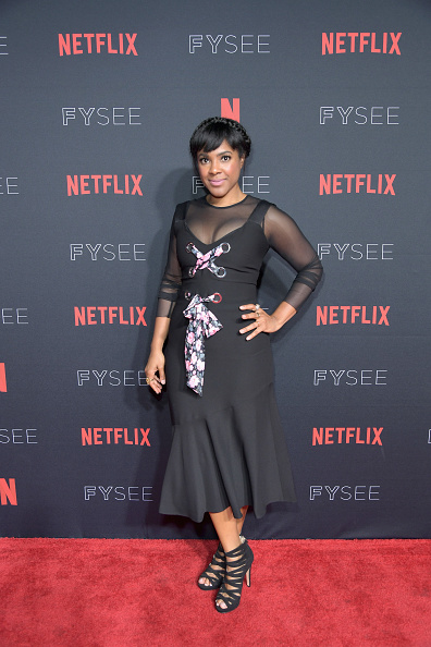 Flounced Dress「Strong Black Lead party at Netflix FYSEE」:写真・画像(8)[壁紙.com]