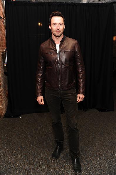 Leather Jacket「2014 Theater BAM Gala - Arrivals」:写真・画像(6)[壁紙.com]