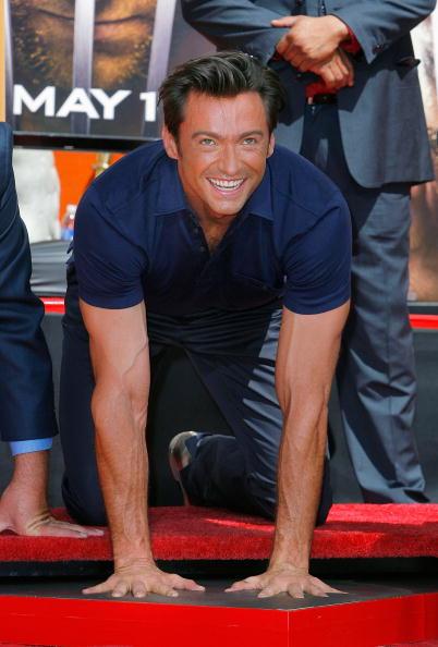 Vince Bucci「Hugh Jackman Hand & Footprint Ceremony At Grauman's Chinese Theatre」:写真・画像(14)[壁紙.com]