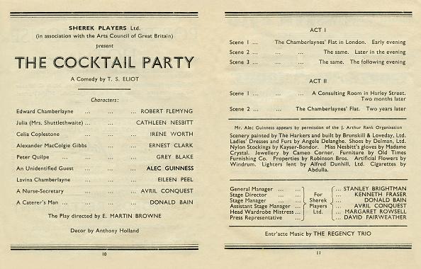 Cocktail Party「T S Eliot」:写真・画像(11)[壁紙.com]