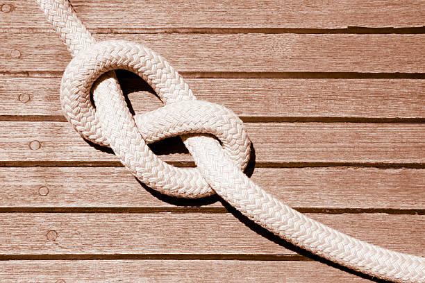 Eight knot on a sail boat deck:スマホ壁紙(壁紙.com)
