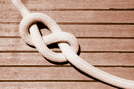 Sepia Toned「Eight knot on a sail boat deck」:スマホ壁紙(8)