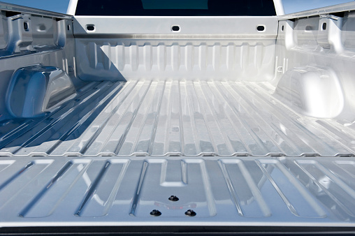 Pick-up Truck「Empty Truck Bed」:スマホ壁紙(2)