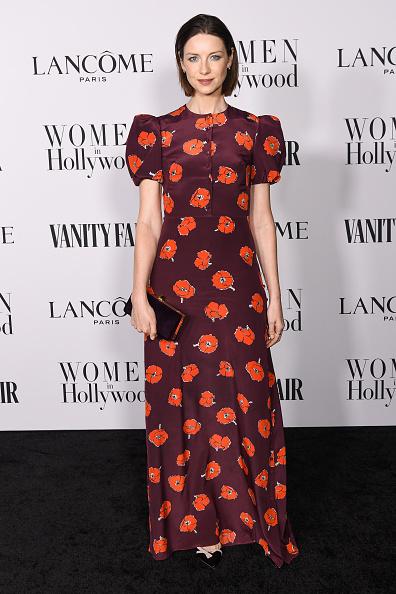 Floral Pattern Dress「Vanity Fair and Lancôme Women In Hollywood Celebration」:写真・画像(11)[壁紙.com]