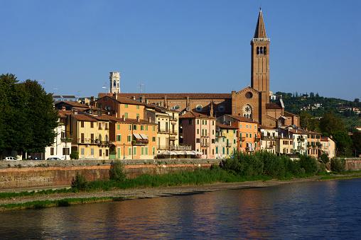 アディジェ川「City Verona, Italy」:スマホ壁紙(17)