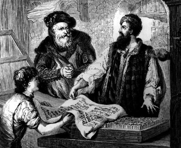 Publication「Gutenberg Press」:写真・画像(1)[壁紙.com]