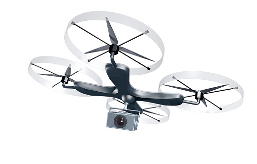 Mid-Air「Unmaned drone with camera」:スマホ壁紙(4)