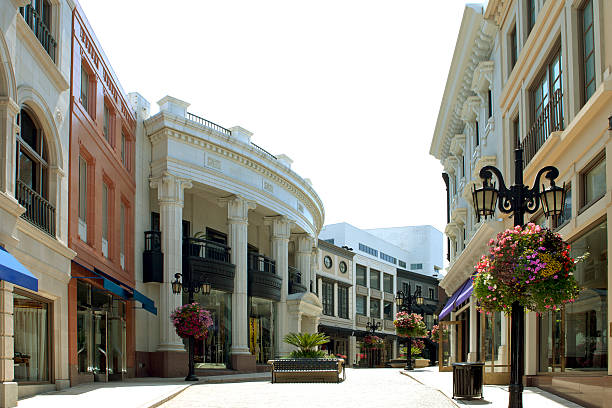 Rodeo Drive, Beverly Hills, California:スマホ壁紙(壁紙.com)