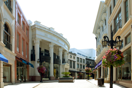 Famous Place「Rodeo Drive, Beverly Hills, California」:スマホ壁紙(6)
