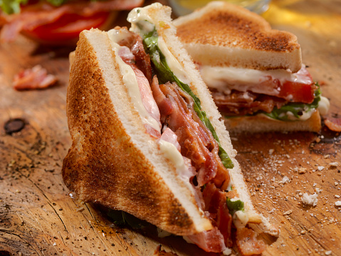 Toasted Food「Toasted BLT Sandwich」:スマホ壁紙(18)