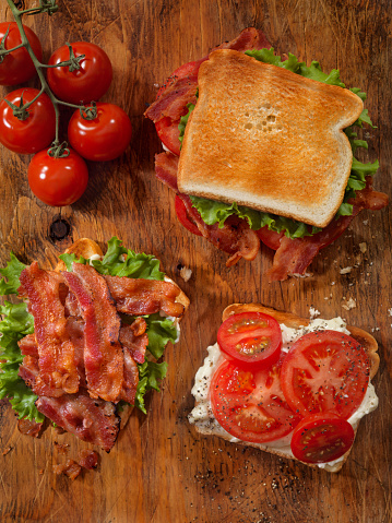 Loaf of Bread「Toasted BLT Sandwich」:スマホ壁紙(1)