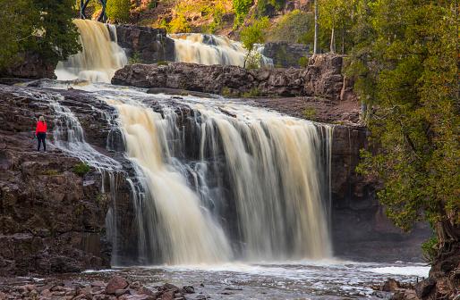 Hiking「Gooseberry Falls, Two Harbors, Minnesota, USA」:スマホ壁紙(2)