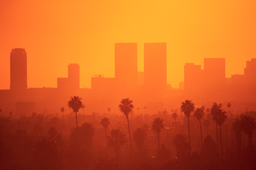 Layered「Hazy Sky over Los Angeles」:スマホ壁紙(5)