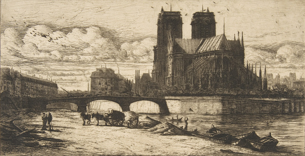 Water's Edge「The Apse Of Notre-Dame」:写真・画像(5)[壁紙.com]