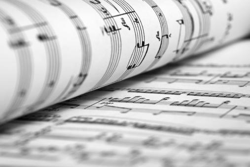 Classical Musician「Sheet music」:スマホ壁紙(5)