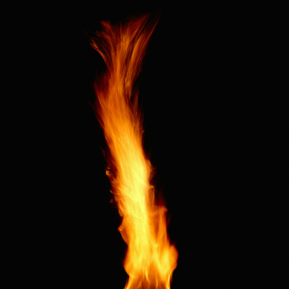 炎「Burning Flame」:スマホ壁紙(13)
