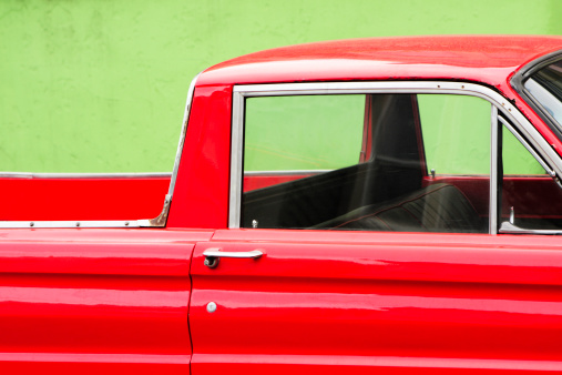 Window Frame「Pickup Truck Roadster Vintage Car」:スマホ壁紙(14)