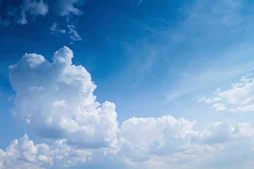澄んだ空「夏のスカイ」:スマホ壁紙(12)