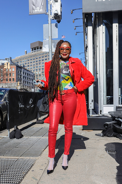 Achim Aaron Harding「Street Style - New York Fashion Week February 2019 - Day 3」:写真・画像(7)[壁紙.com]
