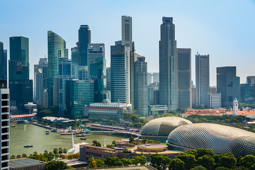 2014「Central Business District in Singapore.」:スマホ壁紙(7)