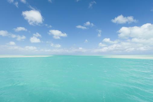 Shallow「Shallow lagoons, Christmas Island, Kiribati」:スマホ壁紙(13)