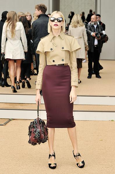 Beige「Burberry Prorsum - Arrivals: London Fashion Week SS14」:写真・画像(1)[壁紙.com]