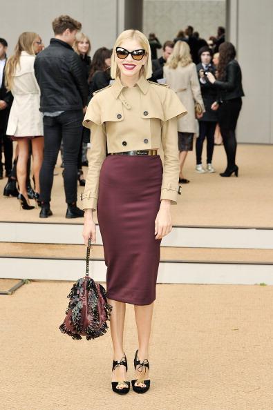 Beige「Burberry Prorsum - Arrivals: London Fashion Week SS14」:写真・画像(0)[壁紙.com]
