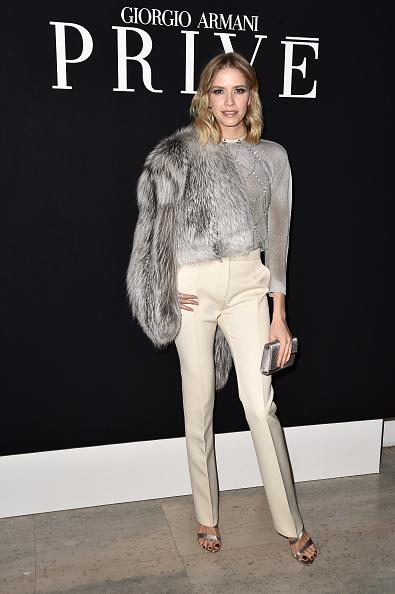 ブランド ジョルジオアルマーニ「Giorgio Armani Prive : Front Row - Paris Fashion Week - Haute Couture S/S 2015」:写真・画像(17)[壁紙.com]