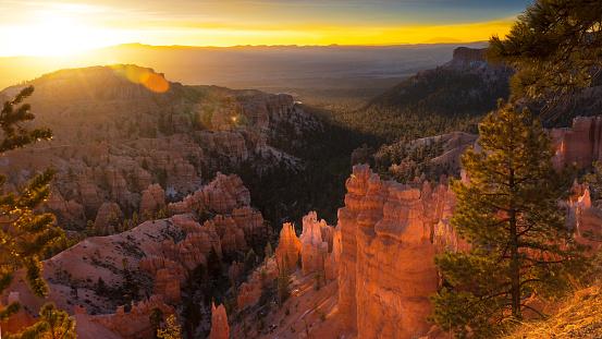 Ravine「Sunsrise at Bryce Canyon National Park」:スマホ壁紙(19)