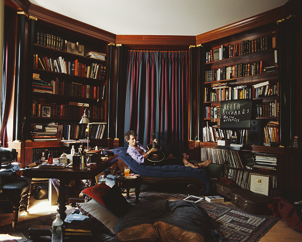 Guitarist「Keith Richards At Home」:写真・画像(9)[壁紙.com]