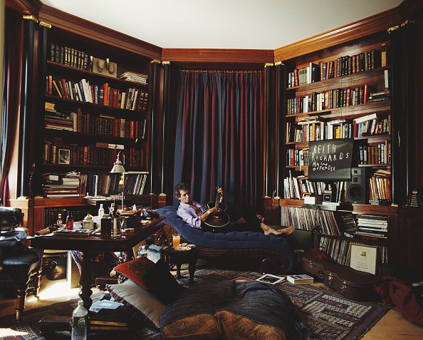 Sofa「Keith Richards At Home」:写真・画像(16)[壁紙.com]