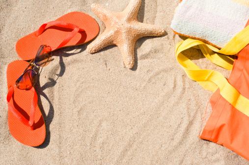 Flip-flop「Equipment for beach」:スマホ壁紙(18)