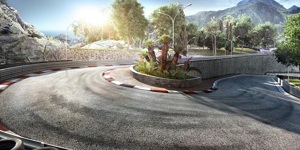Motorsport「Mountain Highway Track」:スマホ壁紙(13)