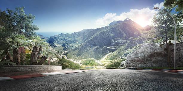 Mountain Highway Track:スマホ壁紙(壁紙.com)
