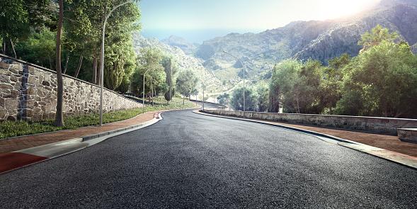 Volcano「Mountain Highway Track」:スマホ壁紙(3)