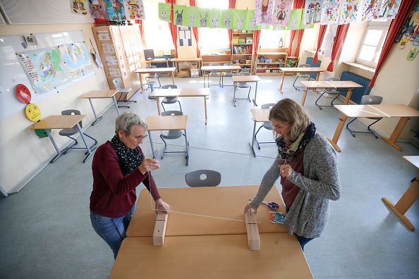 Germany「Schools Prepare To Reopen As Coronavirus Restrictions Ease」:写真・画像(19)[壁紙.com]