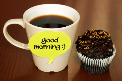 Coffee Break「Good Morning」:スマホ壁紙(2)