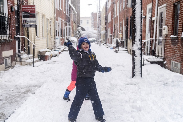 Philadelphia - Pennsylvania「Storm Brings Snow, Sleet, And High Winds To Mid Atlantic Region On Second Day Of Spring」:写真・画像(5)[壁紙.com]