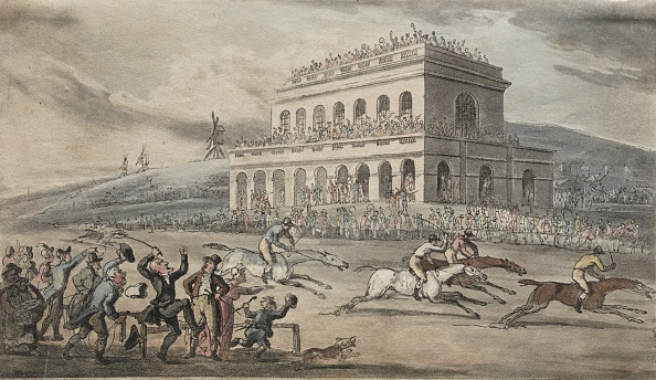 York - Yorkshire「The Rev. Dr. Syntax Loses His Money On The Raceground At York. Creator: Thomas Rowlandson (British」:写真・画像(12)[壁紙.com]