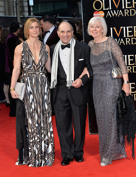David Suchet「The Olivier Awards With Mastercard - Red Carpet Arrivals」:写真・画像(9)[壁紙.com]
