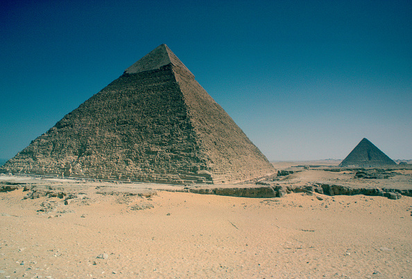 Copy Space「Pyramids, Giza, Egypt」:写真・画像(1)[壁紙.com]