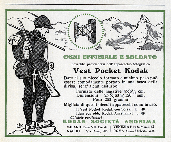 Pocket「ONE KODAK FOR EVERY SOLDIER」:写真・画像(0)[壁紙.com]